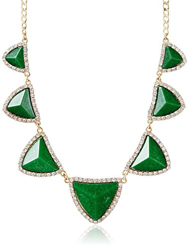 Amrita Singh Choker Necklace for Women (Evergreen) (AN-145-GRN) (multicolor)
