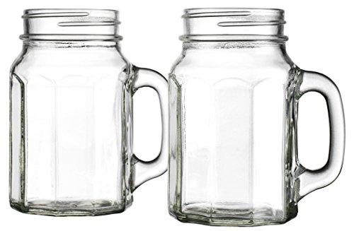 Home Essentials Country Chic Paneled 17oz Mason Jars, Set of 4 (Mason Jars Quidsi compare prices)