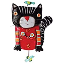 Allen Designs Knitty Kitty Black
