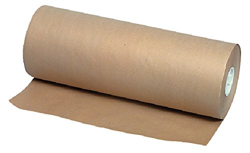 School Smart 40 lb Butcher Paper Roll - 24 inches x 1000 feet - Brown (Large Roll Butcher Paper compare prices)