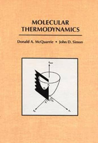 Molecular Thermodynamics