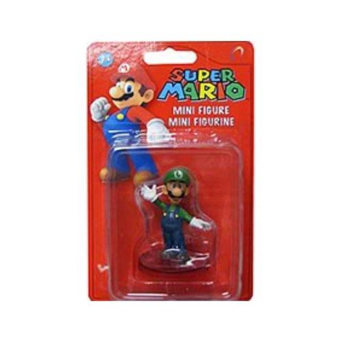 Nintendo Super Mario Bros. Wave 1 2 inch Luigi Mini Figure