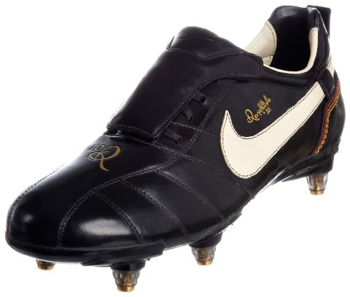 Nike Men's Tiempo Ronaldinho Sg Black/White/Gold Football Boot 315364-027 7 UK
