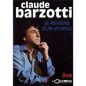 Barzotti, Claude - Je reviens d'un voyage, live à l'Olympia
