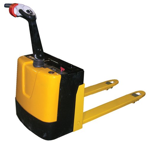 Beacon Fully Powered Electric Pallet Truck; Capacity (LBS): 3,000; Fork Size (W x L): 25