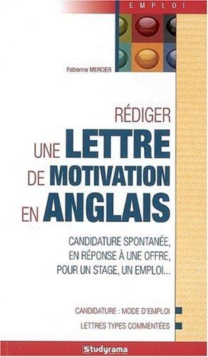 livre  u0026gt  r u00e9diger une lettre de motivation en anglais