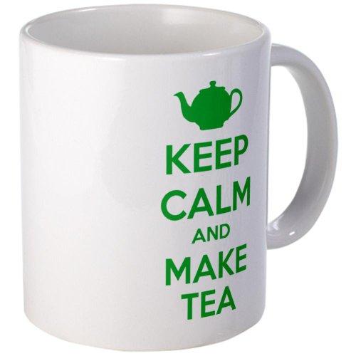 Keep Calm And Make Tea Mug Mug By Cafepress