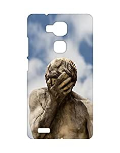 Mobifry Back case cover for Huawei Ascend Mate7 Mobile ( Printed design)