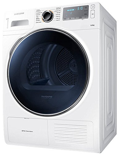 Samsung DV90H8000HW 9kg Heat-Pump Freestanding Tumble Dryer in White