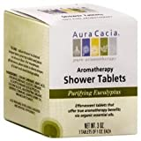Aura Cacia Shower Tablets 3 ea - offer true aromatherapy benefits via organic essential oils Baby / Child / Infant / Kid