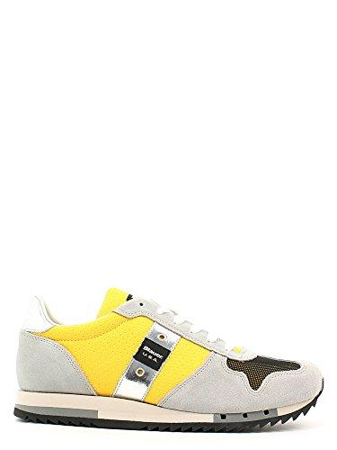 Blauer USA 6SRUNLOW/NYL Sneakers Uomo Scamosciato Giallo Giallo 42
