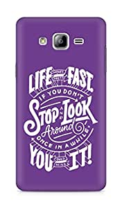 AMEZ life moves pretty fast Back Cover For Samsung Galaxy ON7