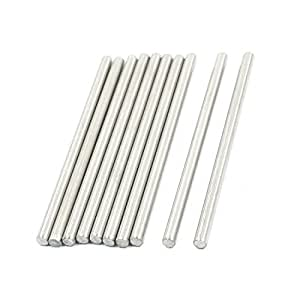 10Pcs RC Toy Car Model Part Stainless Steel Round Rod Axle 3mmx60mm