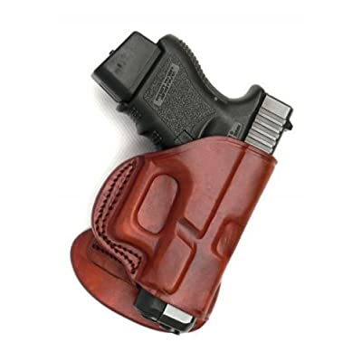 PADDLE HOLSTER. FITS BERETTA PX4 STORM. BROWN LEFT HANDED