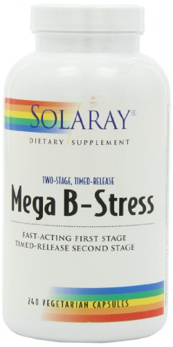 Solaray Two-Stage Mega B-Stress - 240 Capsules