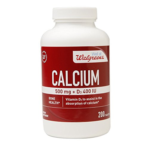 walgreens-calcium-500mg-d3-400-iu-200-tablets