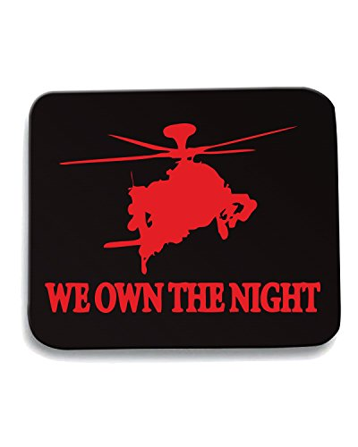 Cotton Island - Tappetino Mouse Pad OLDENG00722 we own the night, Taglia taglia unica