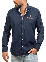 Signore Dei Mari Camisa Hombre Brad (Azul Marino)