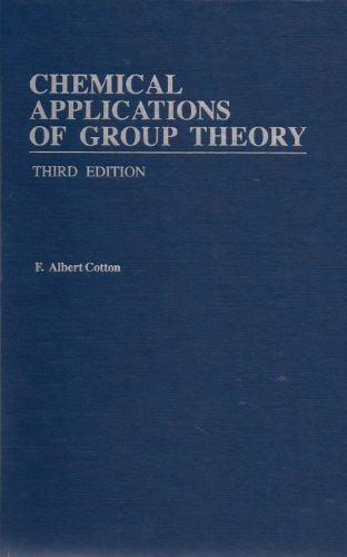 Chemical applications of group theory