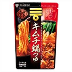 ミツカン 〆まで美味しいキムチ鍋つゆ ストレート 750g×3袋