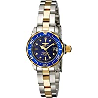 Invicta Pro Diver INVICTA-8942 Gold Plated Bracelet Womens Quartz Watch