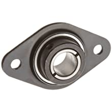 Dynaroll S5FPB2ST Flangette Collar Bearing, .5&#034; Bore, 1.437 Width, 2-11/32&#034; Length