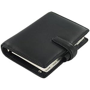 Filofax Guildford Black Mini Organizer - FF-024885