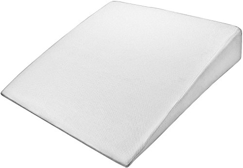 PharMeDoc Bed Wedge Pillow w/ Washable Case - Premium Therapeutic Support for Sleeping, Back & Leg Pain - Layered Memory Foam - Promotes Spinal & Digestive Support (33 - 30.5 - 7.5) (Natural Tmj Relief compare prices)