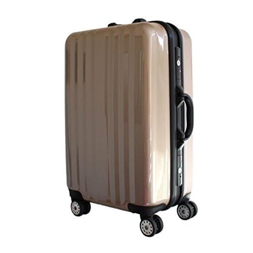 フレーム スーツケース 1125 大型 ゴールド