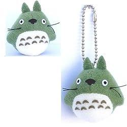 Studio Ghibli My Neighbor Totoro 1.5 Green Totoro Plush With Chain