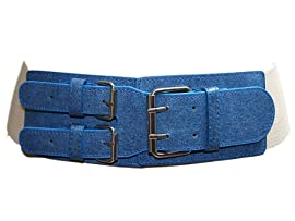 Ladies 3 Inch Wide Stretch Belt