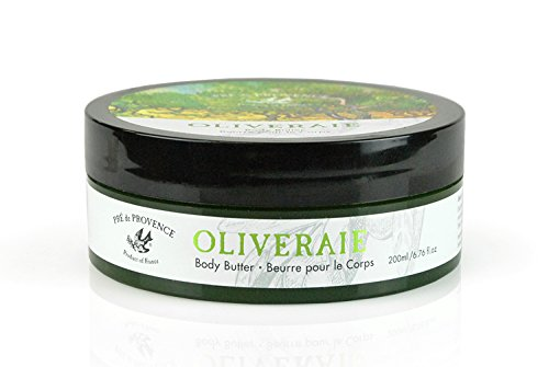 Pre de Provence Oliveraie Olive Tree Collection with Vitamin E and Antioxidants, Smooth, Natural Body Butter (French Melon Extract compare prices)