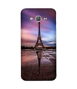Eiffel Upside Down Samsung Galaxy A8 Case