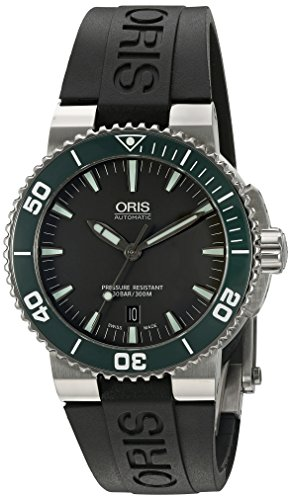 Oris Men's 73376534137RS Analog Display Swiss Automatic Black Watch