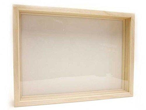 桐製標本箱:特大型(ガラス蓋)