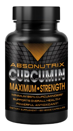 Absonutrix Curcumin Maximumstrength 120Veggie Caps 95% Curcuminoids