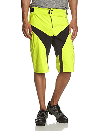 Craft, Pantaloni corti Uomo Trail Bike, Giallo (Scream), XXL