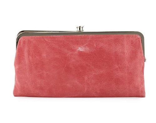 Hobo International Lauren Wallet Clutch Red