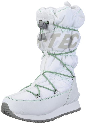 Hi-Tec Women's New Moon 200 White/Aloe Snow Boot O001426/011/01 4 UK