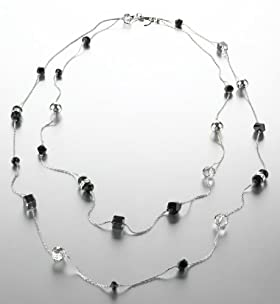 Assorted Sparkle Bead Long Necklace