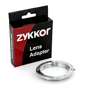 Zykkor Leica R Lens to Canon EOS EF Body Mount Adapter