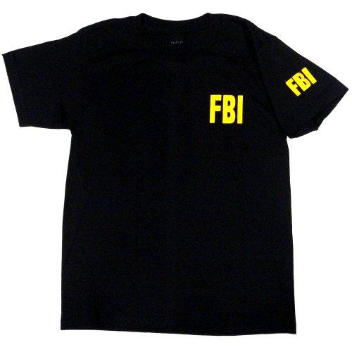 FBI Tシャツ ブラック
