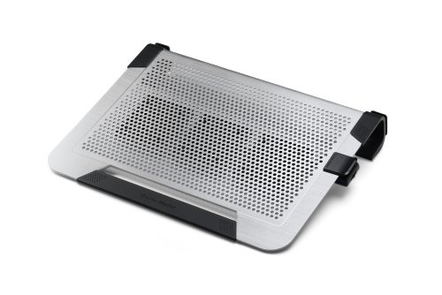 Cooler Master NotePal U3 PLUS - Laptop Cooling Pad with 3 Movable High Performance Fans (Silver) (Cooler Master U3 compare prices)