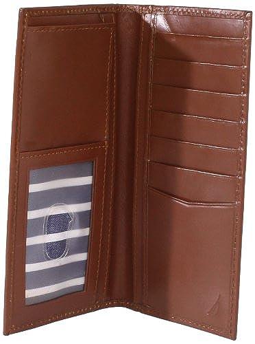 06. Nautica Men's Checkbook Secretary Wallet