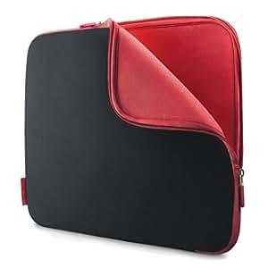 """Belkin F8N140EABR Etui/housse universelle en Neoprene pour PC Portable 10"""" Noir / Rouge"""