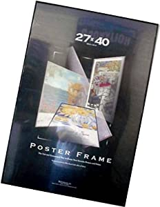 Poster Frame 27 inch X 40 inch Solid Backing Quality and Value