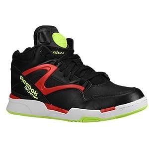 Reebok Men's Omni Lite Fashion Sneaker,Black/Excellent Red/Solar Yellow/White,13 M US