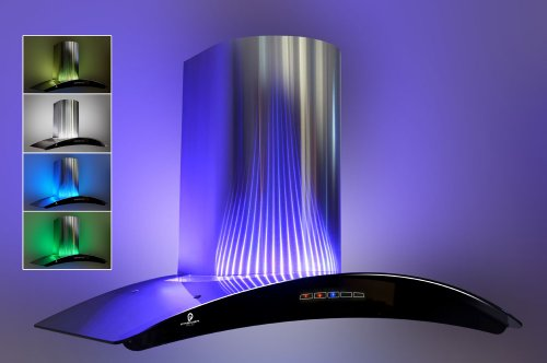 100cm Chimney Cooker Hood With Led Mood Lighting H73