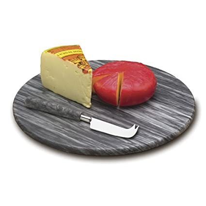 Grey Marble Cheese Board