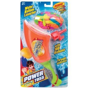 Water Bomb Toss Balloon Launcher Thrower Set With Catapult Filler 100 Balloons - 1